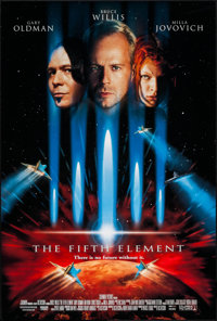 """The Fifth Element (Columbia, 1997). One Sheet (27"""" X 40""""). DS. Science Fiction"""