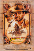 """Movie Posters:Action, Indiana Jones and the Last Crusade (Paramount, 1989). One Sheet(27"""" X 41""""). Advance. Action.. ..."""