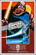 "Movie Posters:Science Fiction, The Empire Strikes Back (Killian Enterprises, R-1990). 10thAnniversary Fan Club One Sheet (27"" X 41""). SS. Science Fiction...."