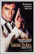 "Movie Posters:James Bond, Licence to Kill (United Artists, 1989). One Sheets (27"" X 41"") 2 Styles Advance. James Bond.. ... (Total: 2 Items)"
