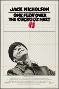 "Movie Posters:Academy Award Winners, One Flew Over the Cuckoo's Nest (United Artists, 1975). Pre-Academy Award Style One Sheet (27"" X 41""). Drama.. ..."