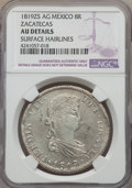 Mexico, Mexico: Zacatecas. Ferdinand VII 8 Reales 1819 ZS-AG AU Details(Surface Hairlines) NGC,...