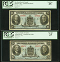 Canadian Currency: , Montreal, PQ- Royal Bank of Canada $20 Jan. 2, 1935 Ch. #630-18-06a Two Examples.. ... (Total: 2 notes)