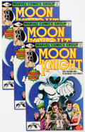 Modern Age (1980-Present):Superhero, Moon Knight #1-3 and 5 Group (Marvel, 1980-81) Condition: AverageVF/NM.... (Total: 16 Comic Books)