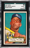 Baseball Cards:Singles (1950-1959), 1952 Topps Mickey Mantle #311 SGC 82 EX/NM+ 6.5....