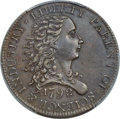 1792 P1C Birch Cent, Judd-5 (?), Pollock-6 (?), R.8 -- Denticles Repaired, Edge Filed -- PCGS Genuine Secure. XF Details...