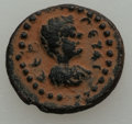 Ancients:Roman Provincial , Ancients: JUDAEA. Gaza. Geta (AD 198-211). AE15 (2.40 gm). Fine....