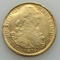 Colombia, Colombia: Ferdinand VII gold 8 Escudos 1819 NR-JF VF - ExJewelry,...