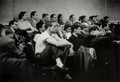 Photographs, Eve Arnold (American, 1913-2012). Paul Newman in white T-shirt taking a class at The Actors Studio, New York, 1955. Gela...