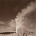 Photographs:Gelatin Silver, Lynn Davis (American, b. 1944). Old Faithful, Yellowstone National Park, 1990. Sepia-toned gelatin silver, printed 1994...