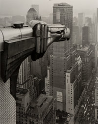George A. Tice (American, b. 1938) From the Chrysler Building, New York, 1978 Gelatin silver, printe