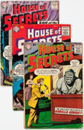Silver Age (1956-1969):Horror, House of Secrets Group of 8 (DC, 1959-61) Condition: Average VG....(Total: 8 Comic Books)