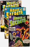 Silver Age (1956-1969):Horror, House of Secrets Group of 9 (DC, 1958-60) Condition: Average GD....(Total: 9 Comic Books)