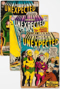 Silver Age (1956-1969):Horror, Tales of the Unexpected Group of 17 (DC, 1957-72) Condition:Average GD-.... (Total: 17 Comic Books)