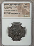 Ancients:Roman Provincial , Ancients: MOESIA INFERIOR. Marcianopolis. Gordian III (AD 238-244).Æ pentassarion (13.95 gm). NGC XF 4/5 - 4/5....
