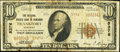 National Bank Notes:Kentucky, Frankfort, KY - $10 1929 Ty. 2 The National Branch Bank of KentuckyCh. # 5376. ...