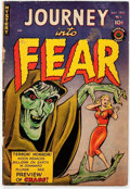 Golden Age (1938-1955):Horror, Journey Into Fear #1 (Superior Comics, 1951) Condition: GD/VG....
