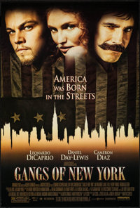 """Gangs of New York & Others Lot (Miramax, 2002). One Sheets (3) (27"""" X 39.5"""", 27"""" X 40"""") DS. Crim..."""