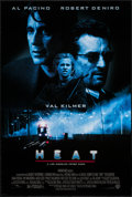 "Movie Posters:Crime, Heat & Other Lot (Warner Brothers, 1995). One Sheets (2) (27"" X40"" & 27"" X 41""). DS. Crime.. ... (Total: 2 Items)"
