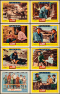 "Movie Posters:Western, The Big Country (United Artists, 1958). Lobby Card Set of 8 (11"" X 14""). Western.. ... (Total: 8 Item)"