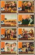 "Movie Posters:Bad Girl, Dragstrip Girl (American International, 1957). Lobby Card Set of 8(11"" X 14""). Bad Girl.. ... (Total: 8 Items)"