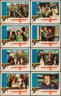 """Movie Posters:War, The Longest Day (20th Century Fox, 1962). Lobby Card Set of 8 (11""""X 14""""). War.. ... (Total: 8 Items)"""