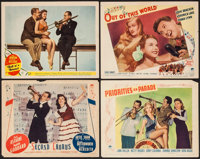 """Second Chorus & Others Lot (Paramount, 1940). Lobby Cards (4) (11"""" X 14""""). Musical. ... (Total: 4 Item..."""