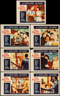 "Movie Posters:Romance, That Kind of Woman (Paramount, 1959). Lobby Cards (7) (11"" X 14""). Romance.. ... (Total: 7 Items)"