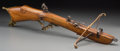 Decorative Arts, Continental:Other , A German Baroque-Style Crossbow. Marks: WERTGARNER in LINZ.9-1/2 h x 32-1/2 w x 14-1/4 d inches (24.1 x 82.6 x 36.2 cm)...
