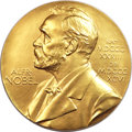 Sweden, Sweden: Nobel Prize Gold Award Medal to Walther Bothe forAdvancements in Physics 1954,...