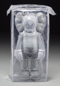 Collectible, KAWS (b. 1974). Companion (Grey), 2016. Painted cast vinyl. 11 inches (27.9 cm) (height). Open edition. Stamped to the b...