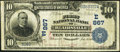 National Bank Notes:Pennsylvania, Blairsville, PA - $10 1902 Date Back Fr. 616 The First NB Ch. #(E)867. ...