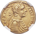 Italy:Sicily, Italy: Sicily. Frederick II as Holy Roman Emperor (1220-1250) gold Augustale 1231-1250 XF45 NGC,...