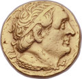 Ancients:Greek, Ancients: PTOLEMAIC EGYPT. Ptolemy I Soter (305-281 BC). AV stater(17mm, 6.79 gm, 12h). Choice VF, ex mount....