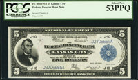 Fr. 804 $5 1918 Federal Reserve Bank Note PCGS About New 53PPQ