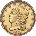 Early Quarter Eagles, 1831 $2 1/2 BD-1, R.4, MS60 NGC....