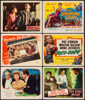 """Movie Posters:Mystery, Lured & Others Lot (United Artists, 1947). Lobby Cards (4) & Title Cards (4) (11"""" X 14""""). Mystery.. ... (Total: 6 Items)"""