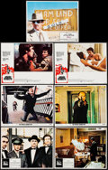 "Movie Posters:Crime, The Godfather & Others Lot (Paramount, 1972). Lobby Cards (7)(11"" X 14""). Crime.. ... (Total: 7 Items)"