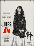 """Movie Posters:Foreign, Jules and Jim (Cinedis, 1961). French Affiche (23.75"""" X 31.25""""). Foreign.. ..."""