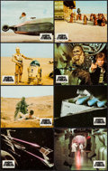 """Movie Posters:Science Fiction, Star Wars (20th Century Fox, 1977). French Lobby Card Set of 12 (9""""X 11""""). Science Fiction.. ... (Total: 12 Items)"""