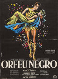 "Movie Posters:Foreign, Black Orpheus (Lux, 1959). French Affiche (23.5"" X 31.5""). Foreign.. ..."