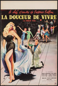"Movie Posters:Foreign, La Dolce Vita (Pathe, 1960). French Petite (15.75"" X 23.5""). Foreign.. ..."