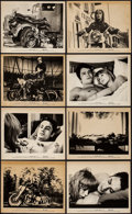 "Movie Posters:Exploitation, The Girl on a Motorcycle & Other Lot (Warner Brothers, R-1970).Photos (15) (8"" X 10""). Exploitation. Reissue Title: Naked...(Total: 15 Items)"