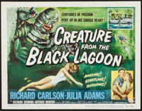 "Creature from the Black Lagoon (Universal International, 1954). Title Lobby Card (11"" X 14""). Horror"