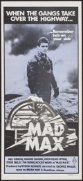 "Movie Posters:Science Fiction, Mad Max (American International, 1980). Country of OriginAustralian Daybill (13"" X 30""). Science Fiction.. ..."