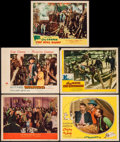 "Movie Posters:War, For Whom the Bell Tolls & Others Lot (Paramount, 1943). LobbyCards (5) (11"" X 14""). War.. ... (Total: 5 Items)"