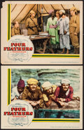 "Movie Posters:Action, Four Feathers (United Artists, 1939). Lobby Cards (2) (11"" X 14"").Action.. ... (Total: 2 Item)"