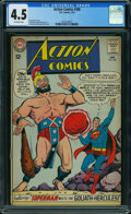 Silver Age (1956-1969):Superhero, Action Comics #308 (DC, 1964) CGC VG+ 4.5 OFF-WHITE pages.