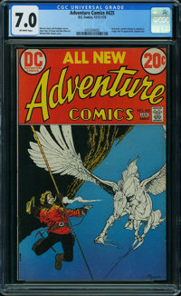 Adventure Comics #425 (DC, 1973) CGC FN/VF 7.0 OFF-WHITE pages