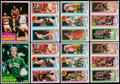 Basketball Cards:Lots, 1980 and 1981 Topps Basketball Collection (680)....